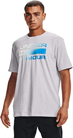 Under Armour UA TEAM ISSUE WORDMARK, T Shirt for Men with Graphic Design, Loose-Fit Sport and Fitness Clothing Men
