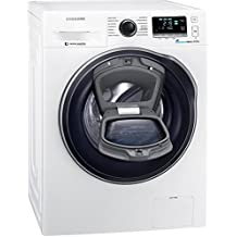 Samsung WW80K6404QW/EG Waschmaschine FL / A+++ / 116 kWh / Jahr / 1400 UpM / 8 kg / Add Wash / WiFi Smart Control / Super Speed Wash / Digital Inverter Motor / weiß
