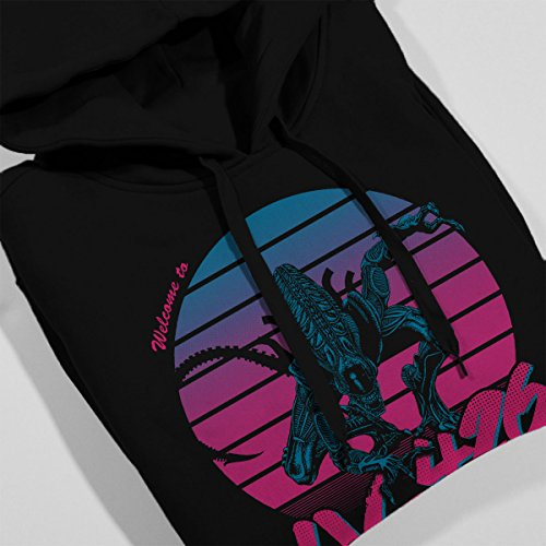 Aliens Welcome to LV-426 Women's Hooded Sweatshirt Black