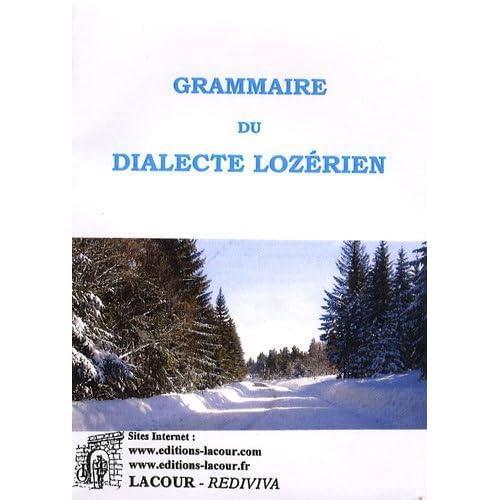 Grammaire du dialecte lozérien