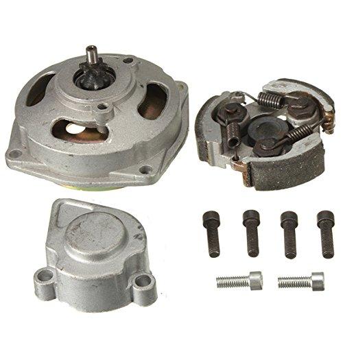 Yongse Getriebe Kupplungstrommel Glocke Gehäuse für Mini Moto Quad 6 Zähne (Drum Glocken)