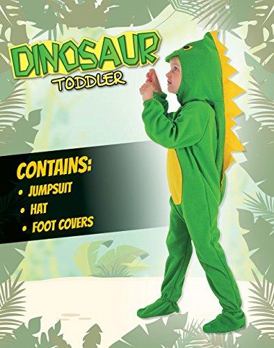 Imagen de disfraz infantil de dinosaurio. 3 años alternativa