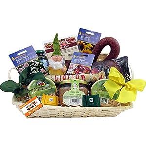 Gärtner Geschenk-Korb Präsentkorb (6071) mit deftigen Delikatessen und Süßigkeiten, Figur