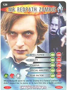 Doctor Who Battles In Time Exterminator Common Card #129 Mr Redpath Zombie