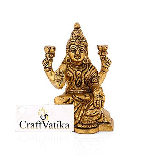 bendicion-de-laton-craftvatika-lakshmi-estatua-hindu-laxmi-diosa-de-riqueza-escultura-hecho-a-mano-d