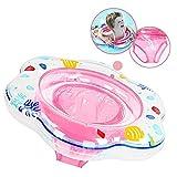 Galleggiante per anello di nuoto per bambini, anelli di nuotata gonfiabile per bambini infant 6-36 mesi per piscina per salvagente neonato (sotto la supervisione di un adulto)