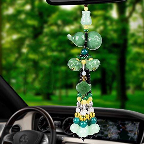 Accessori auto e High-end Automotive specchietto retrovisore Ornamento Decorazione ciondolo ornamenti auto ( Color : B )