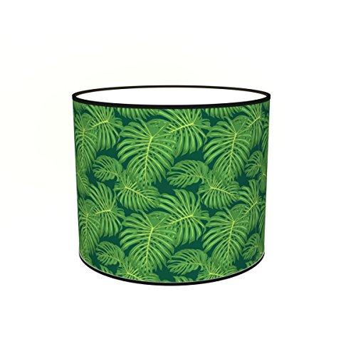Abat-jours 7111302235212 Imprimé Palmio Lampadaire, Tissus/PVC, Multicolore