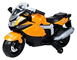 #10: Vihan Electric Vehicles Company K1600 BMW K1300 12V Hand Accelerator Ride On Bike for 2 to 10 Year Old Kids - Unassembled (Orange)
