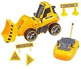 Ferngesteuertes Baggerspielzeug für Jungen und Mädchen im Alter von 3 bis 6 Jahren TG659 – Ferngesteuertes Baggerspielzeug mit vollständiger Richtungskontrolle und Geräuscheffekten