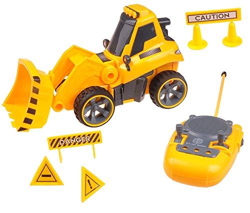 Ferngesteuertes Baggerspielzeug für Jungen und Mädchen im Alter von 3 bis 6 Jahren TG659 - Ferngesteuertes Baggerspielzeug mit vollständiger Richtungskontrolle und Geräuscheffekten