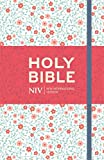 NIV Thinline Floral Cloth Bible (New International Version)