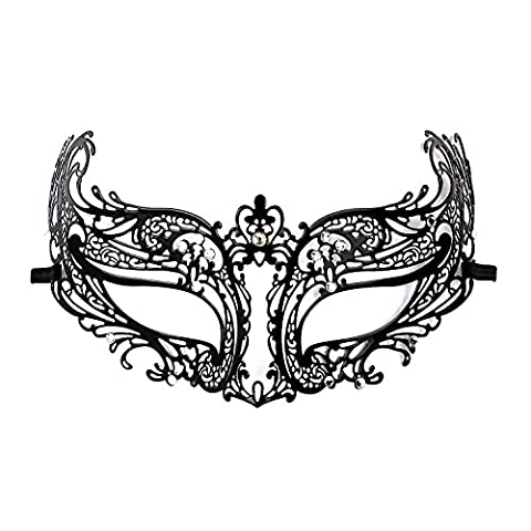 Masque Pour Prom - DSstyles Diamante Luxe de style vénitien en