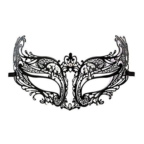 DSstyles-Diamante-Luxe-de-style-vnitien-en-mtal-Filigree-Masquerade-Masque-Prom-Ball-Verona-Mask-pour-les-femmes-et-mode-Lady-5