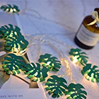 JUSTDOLIFE JUSTDOLIFE 6.56ft String Light Creative 10-LED Hanging Light Decor String Light String Lamp