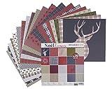 Artemio Scrapbook-Block Noel écossais