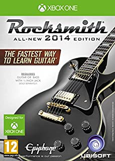 Rocksmith 2014 Edition with Real Tone Cable (Xbox One) (B00KJGJUNS) | Amazon price tracker / tracking, Amazon price history charts, Amazon price watches, Amazon price drop alerts