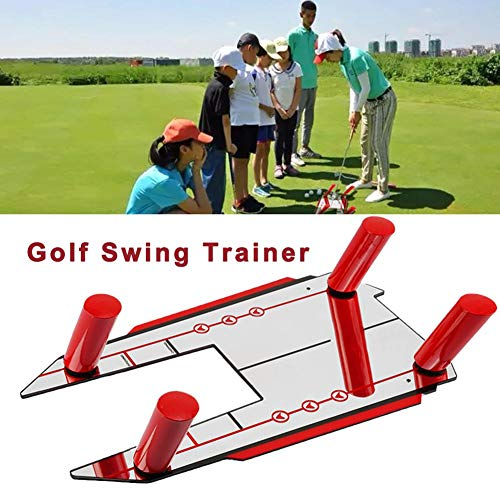 wisedwell Golf Base & Amp 4 Speed Trap Swing Training Hilfe Schwungtrainer   Ruten Fallen Sie das Ballfang Training Golfübungsgeräte