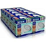 BTEK® 10PC GU5.3 MR16 6W LED Blanco Frío 480LM 40W Iluminación Bombillas 120º Haz de luz