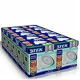 BTEK® 10er GU5.3 MR16 6W LED Kaltweiß Beleuchtung Leuchtmittel Lampen 480LM 40W Punktlicht-Hochleistungs lampen Energiespar Abstrahlwinkel 120º