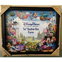 Disney Park Storybook Character 5x7 Shadowbox Colorful Photo Frame Duffy Mickey by