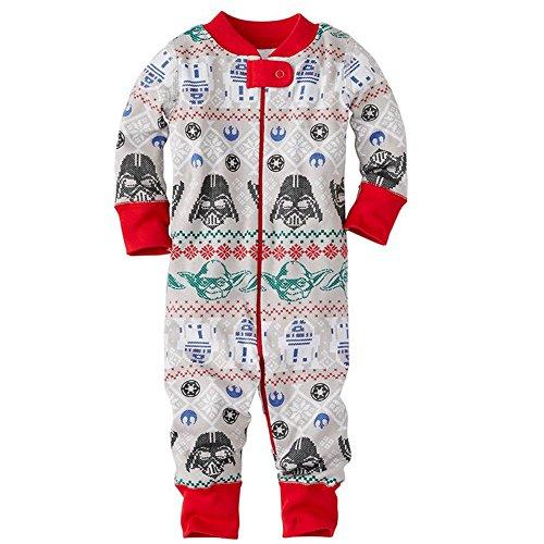 LvRao Familie Schlafanzug Pyjama Weihnachten Baby Kinder Mama Papa Xmas Gedruckt Hausanzug Sleepwear (Xmas #Baby, 3 Months)