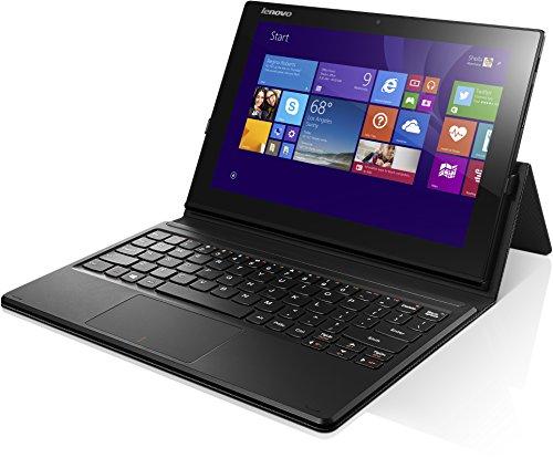 Lenovo MIIX 3-1030 25,7 cm (10,1 Zoll FHD TN) Convertible Tablet-PC (Intel Atom Z3735F, 1,86GHz, 2 GB RAM, 32GB eMMC, Touchscreen, Win 8.1) schwarz 1.86 Ghz Notebook