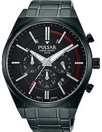 Pulsar Herren-Armbanduhr Analog Quarz Edelstahl beschichtet PT3705X1