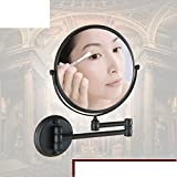 Antique Badezimmerspiegel/Badezimmer Teleskopvergrößerungsspiegel/Wand-Klappspiegel-B