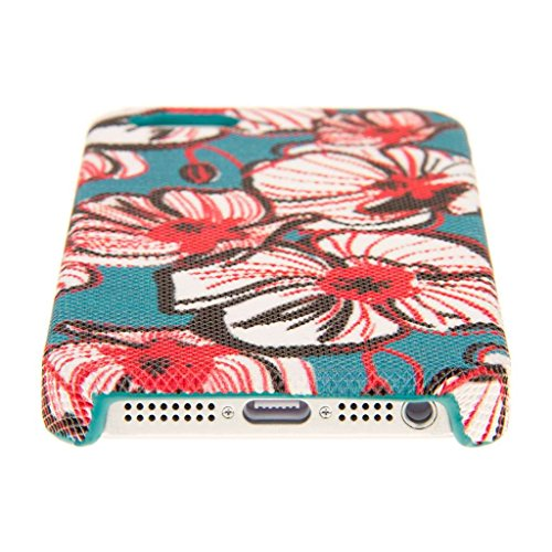 Empire Signature Series Coque fine pour Apple iPhone 5/5S _ P Bold Teal Floral