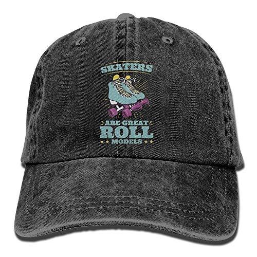 ryudryu Roller Skating Skaters Are Great Roll Models Unisex Baseball Caps Hats - Skating-filme Roller