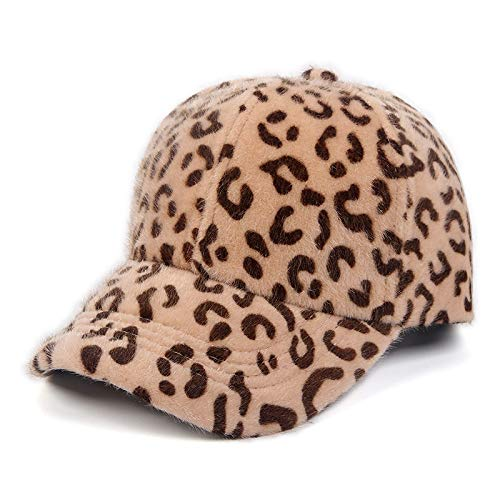 Eltern-Kind-mütze, Kappe, Sport Hut,plüschleopard Baseball Cap 156-58 cm ()
