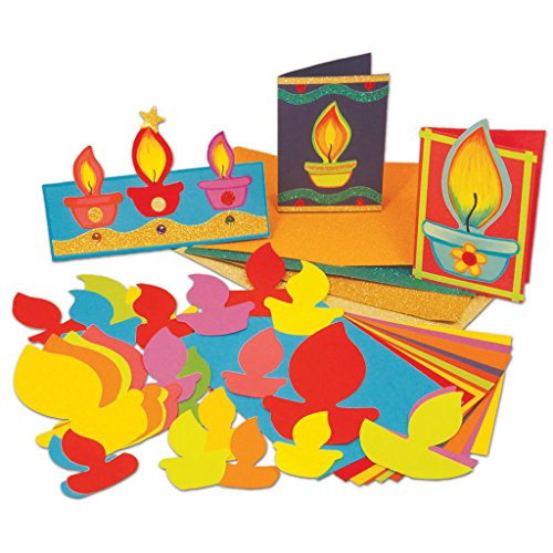 Make a Diwali Card Craft Activity (Pack of 30)