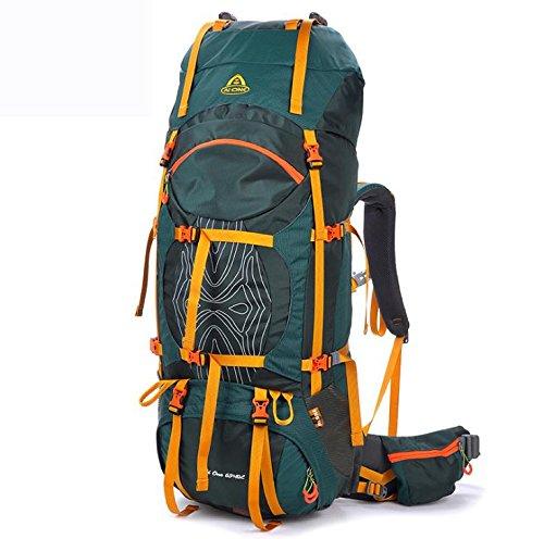 ROBAG Outdoor-Multi-Purpose outdoor Sport Rucksäcke Outdoor-80 L dark green