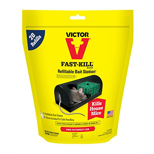 Woodstream M920 Victor First Kill Mouse Bait Station-20 BAIT FST KILL STATION (Mouse Station)