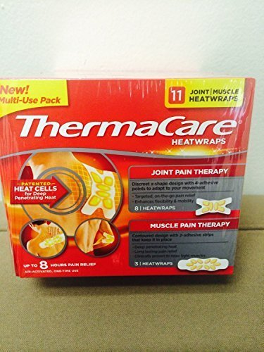 thermacare-new-multi-use-pack-11-joint-muscle-heat-wraps-by-thermacare