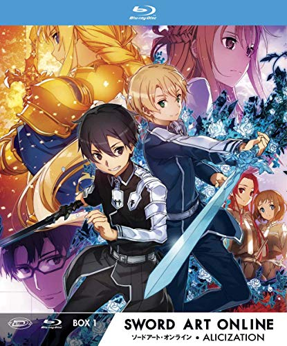 Sword Art Online III Alicization - Limited Edition Box #01 (Eps 01-12) (3 Blu-Ray) (1 BLU-RAY) (Eps Edition Limited)