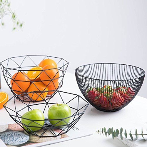 FYYDGZ Plato de Fruta Creativo Sala de Estar Mesita Hogar Cesta de...