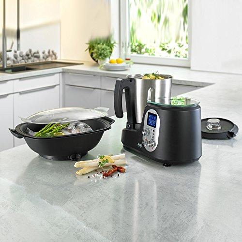 BEEM Thermostar MiXX und Cook, Multifunktionsgerät mit Kochfunktion inklusiv Kochbuch, Edition Eckart Witzigmann, Edelstahl/schwarz - 2