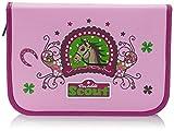 Scout Schulranzen-Set Etui 22 tlg Lucky Horse 20 cm Pink