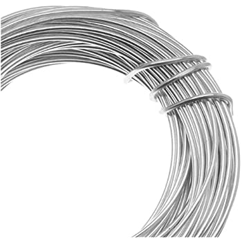 Beadsmith 18-Gauge Aluminum Craft Wire, 39-Feet, Silver: Amazon.co ...