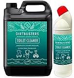 Dirtbusters Toilettes équipées Saniflo détartrant Nettoyant pour fosses septiques Safe 5L et 1litre WC canard