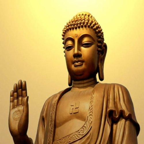 Buddha Is Praying