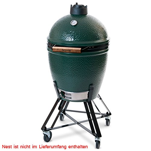 the big green egg large keramik grill kamado grill test. Black Bedroom Furniture Sets. Home Design Ideas
