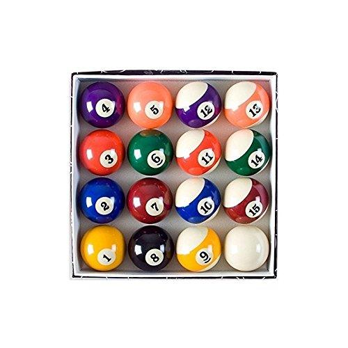 """Juego de Bolas de Billar 57 mm 2 1/4"""" 16 bolas de billar"""