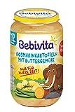 Bebivita Menüs ab 12. Monat, Limitiert Mammut - Rosmarinkartoffeln mit Buttergemüse, 6er Pack (6 x 250 g)