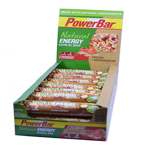 Powerbar Natural Energy Riegel , (30 x 40 g) BIG BOX , 1er Pac (1 x 1200 g Packung), MIX BOX