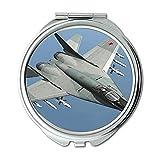 Yanteng indische Luftwaffe Kampfflugzeuge hd, Spiegel, Reise-Spiegel, Straßenkämpfer 2...