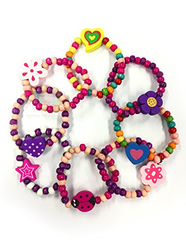 24-colourful-wooden-girls-bracelets-ideal-as-goody-loot-party-bag-filler-jewellery