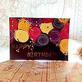 1 Pcs Saint Valentin Carte De Noël Ombre Légère Confession Lumière Tibétain Mot Carte Personnalité Créative Carte Postale Cartes De VoeuxC